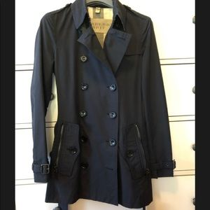 Burberry Brookesby / Brooksby Short Trench Coat